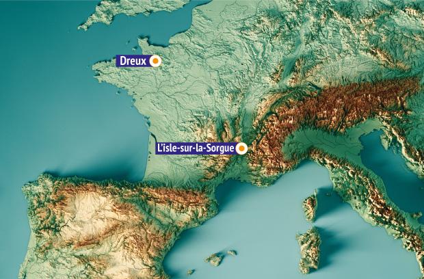 Завод в Л'иль-сюр-ла-Сорг на юге Франции производит сырье для Смекты, завод в Дрё (Нормандия) занимается фасовкой препарата